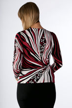 Load image into Gallery viewer, 6305 BEADED PRINT  JUMPER