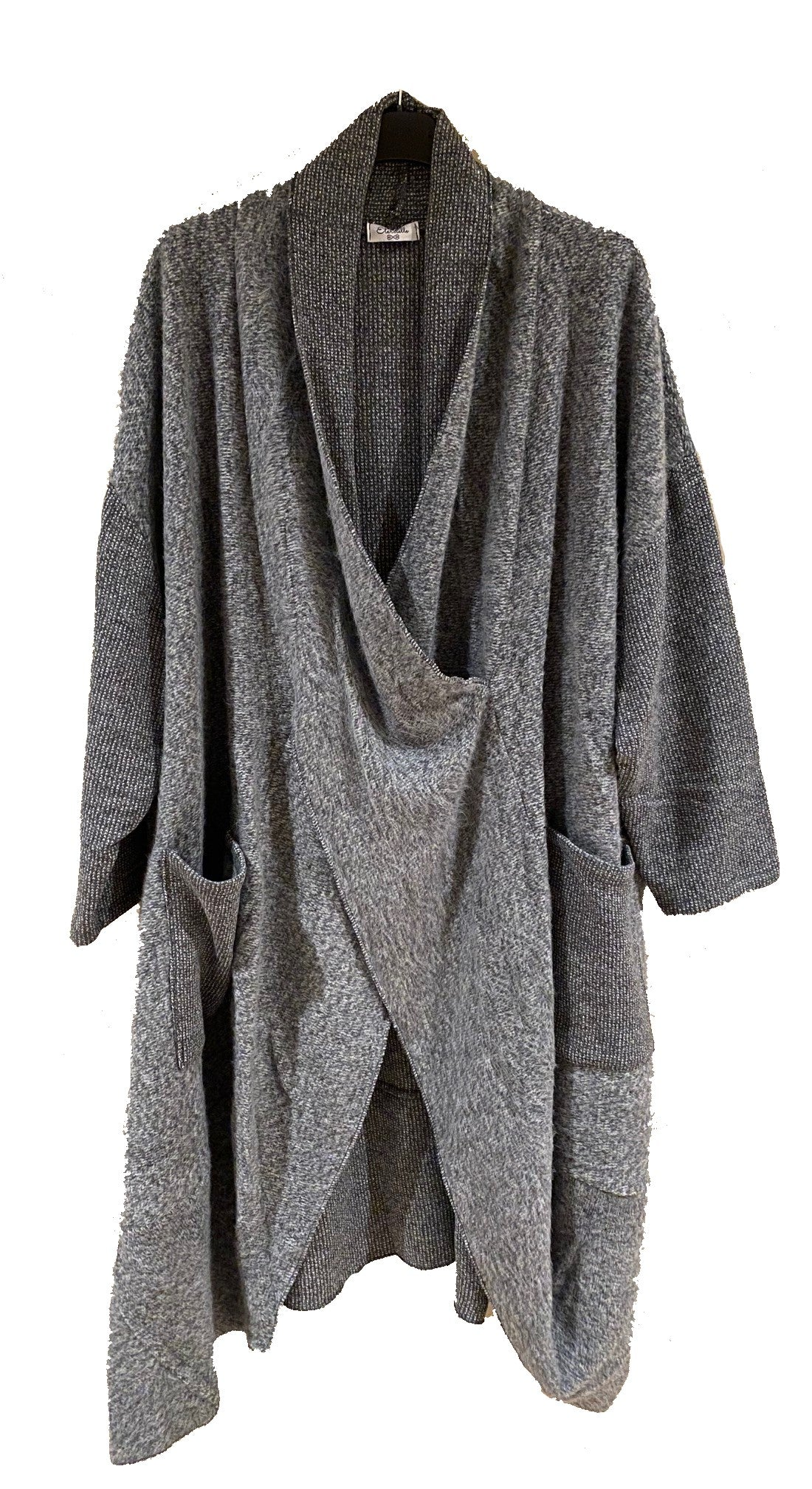Pocket Front Knit Duster