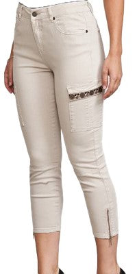 Pocket Detail Cotton Jegging