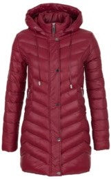 Puffer Quilted Hooded Coat