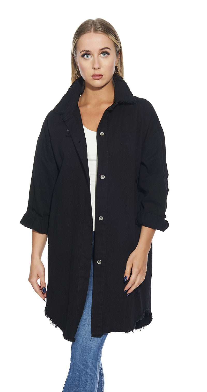 3/4 Cotton Jacket - Italian