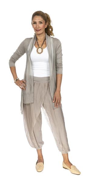 Silk Wrap Pants - Italian