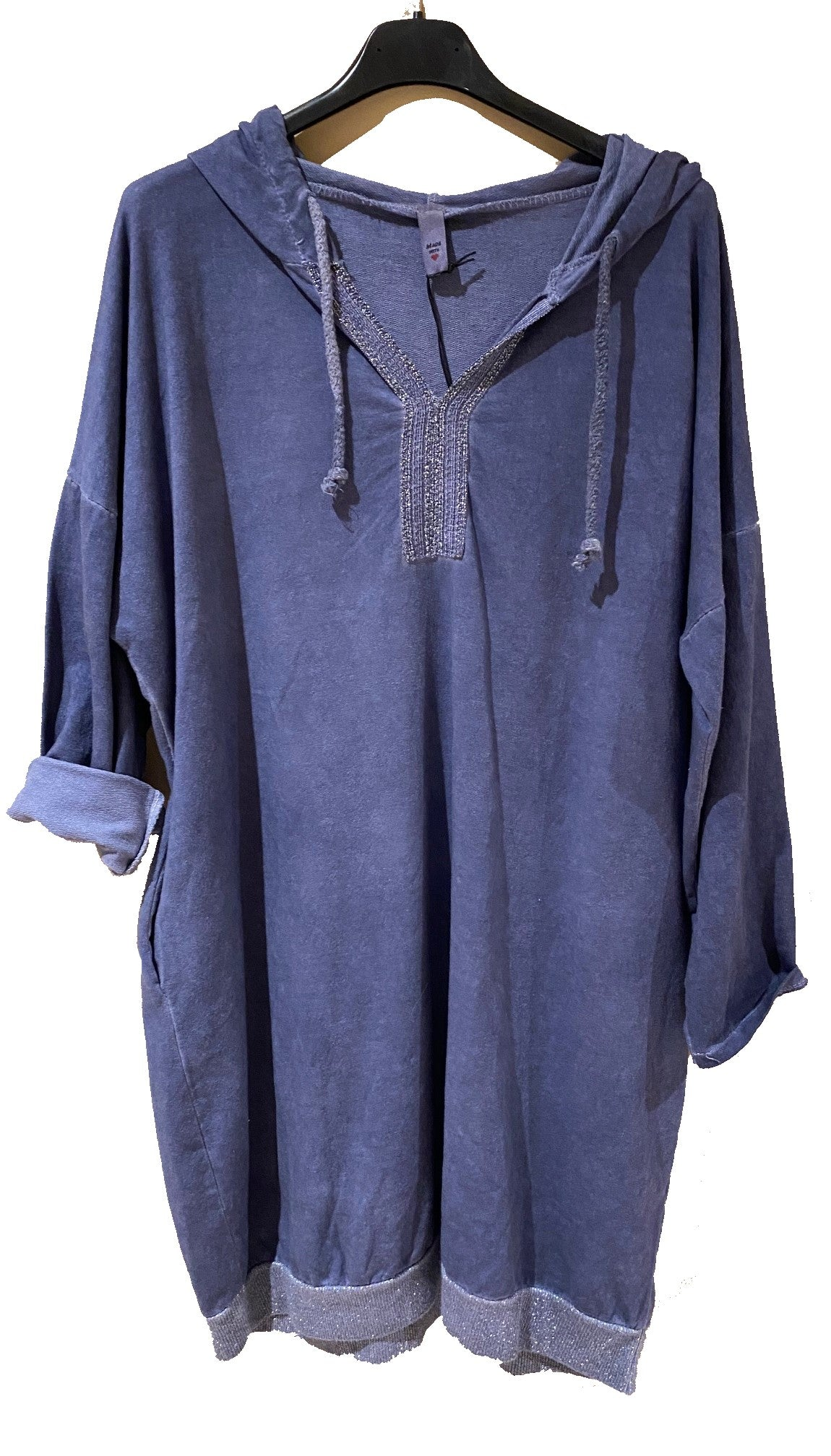 Hooded Cotton Tunic