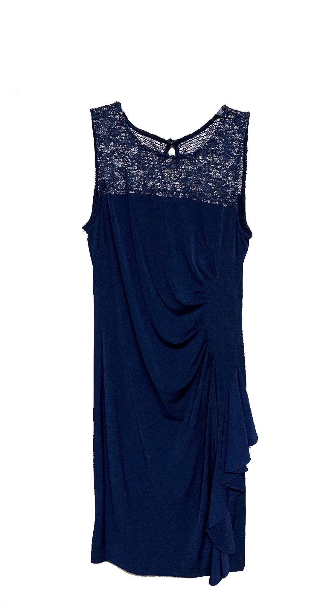 Sleeveless Lace Detail Cocktail Dress