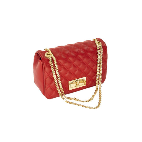 Quilted Chain Strap Purse