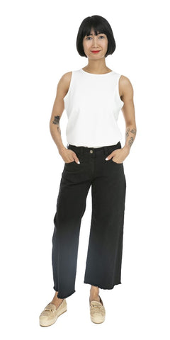Wide Leg Denim - Italian