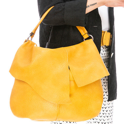 Faux Leather Hand Bag
