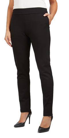 Pull-On Ponti Skinny Pants