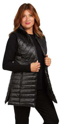 3/4 Quilted Vest