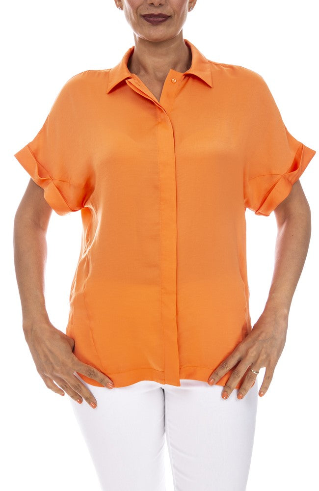Short Sleeve Airflow Blouse