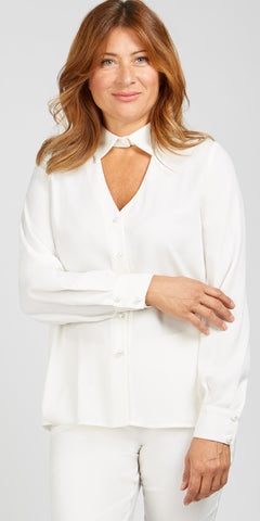 Long Sleeve Detail Blouse
