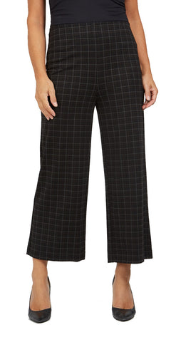 Plaid Pull-On Gaucho