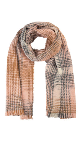 Plaid Woven Scarf