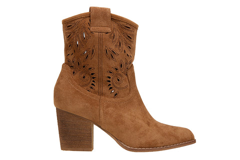 Ultra-Suede Cowboy Boot