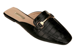 Buckled Slide Sandal