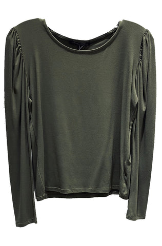 Long Puffy Sleeve Top