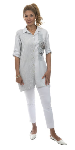 Button Front Tunic - Italian