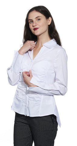 Button Front  Cotton Shirt