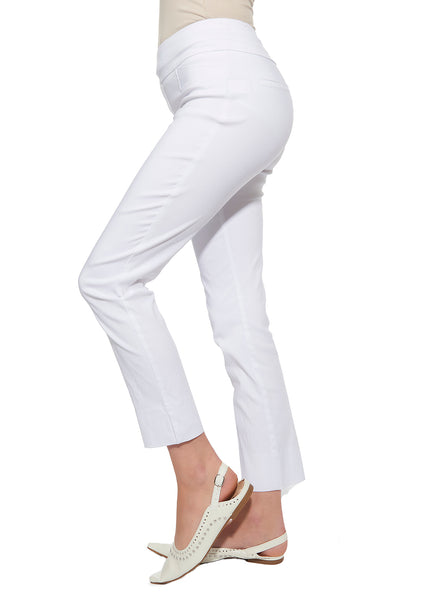 Slim Pull-On Ankle Pants