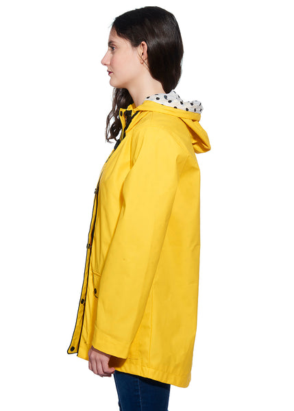 3/4 Hooded Rain Coat