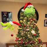 Furry Green Grinch Arm Ornament Holder For The Christmas Tree🎄