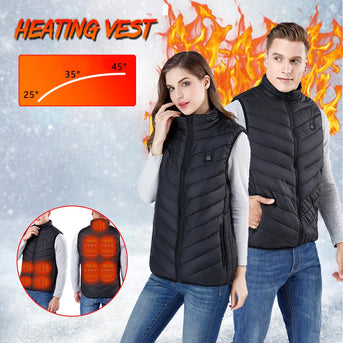 (50% OFF)2020 Unisex Warming Heated Vest-Buy 2 Get Free Shipping