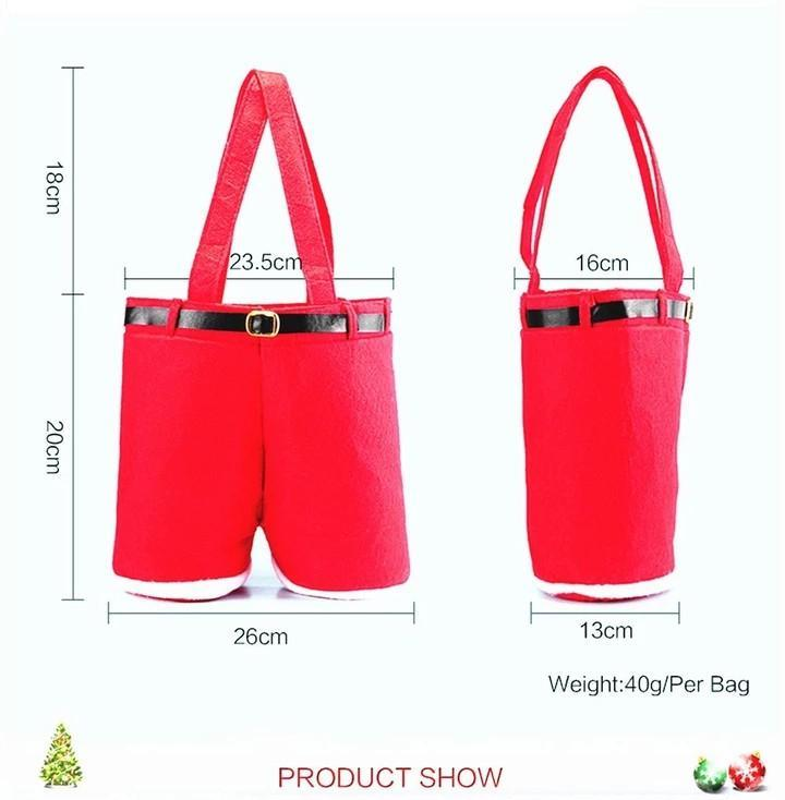 Santa Claus Pants Gift Bag!!BUY MORE SAVE MORE