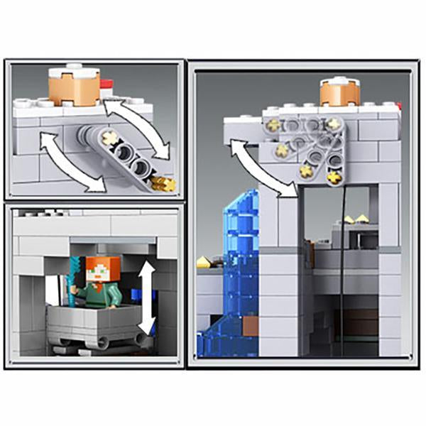 (Halloween promotion)The Mountain Cave Building Kit
