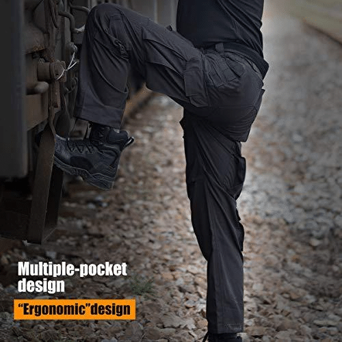 2021 Upgraded IX9 Lightweight Waterproof Tactical Pants