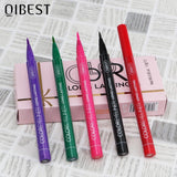 QIBEST 12 Color/set Cat Eye Liquid Eyeliner Waterproof Matte Long-lasting  Makeup Colorful Eyeliner Pencil Professional Cosmetic