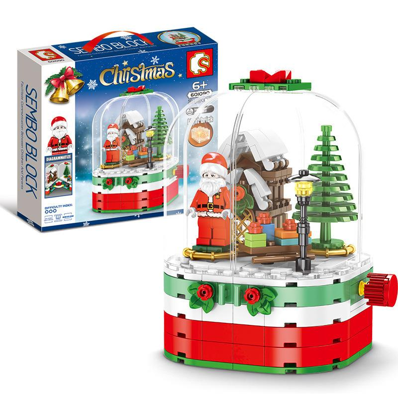 Christmas Building Bricks DIY Sets - Materiol