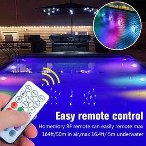 LED Diving Light With Remote Control For The Pool