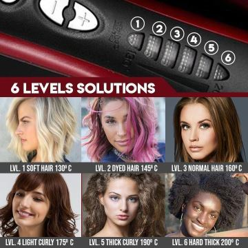 【New year promotion-50% Off】Hair Straightener Styling Comb