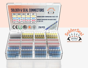 Premium Waterproof Solder Wire Connectors Kit