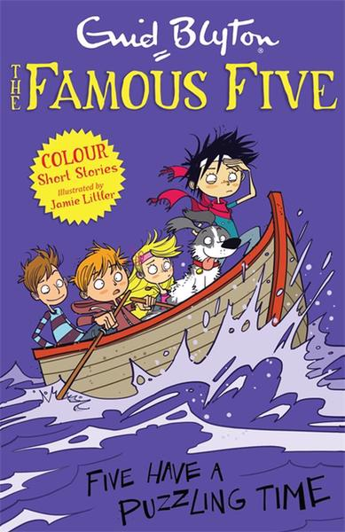 FF Colour Reads: Five have a puzzling ti - Blyton Enid