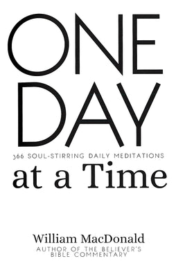 One day at a Time - MacDonald William