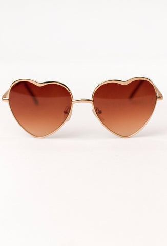 Vintage Heart Sunglasses