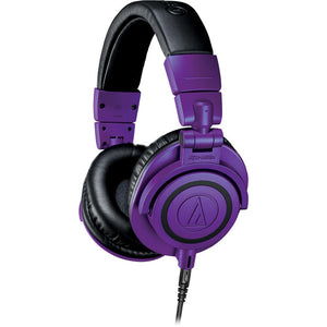 Audio-Technica ATH-M50xPB Limited Edition Professional Monitor Headphones - Purple/Black