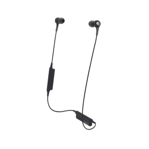 Audio-Technica ATH-CK200BT Wireless In-ear Headphones with In-line Mic & Control
