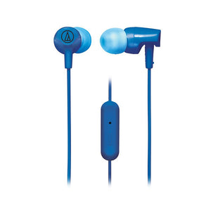 Audio-Technica ATH-CLR100iS SonicFuel® In-ear Headphones with In-line Mic & Control