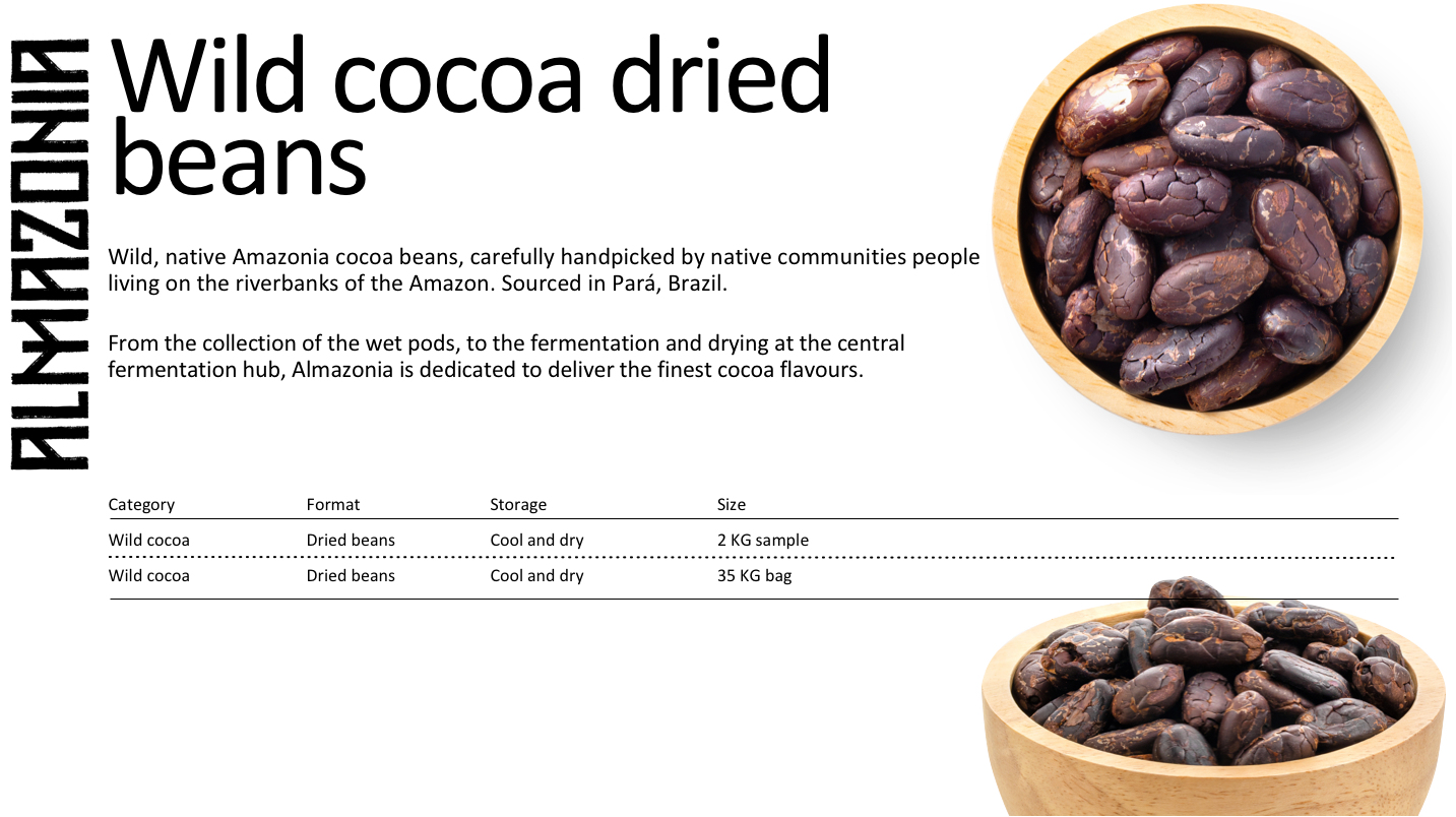 product leaflet wild cocoa