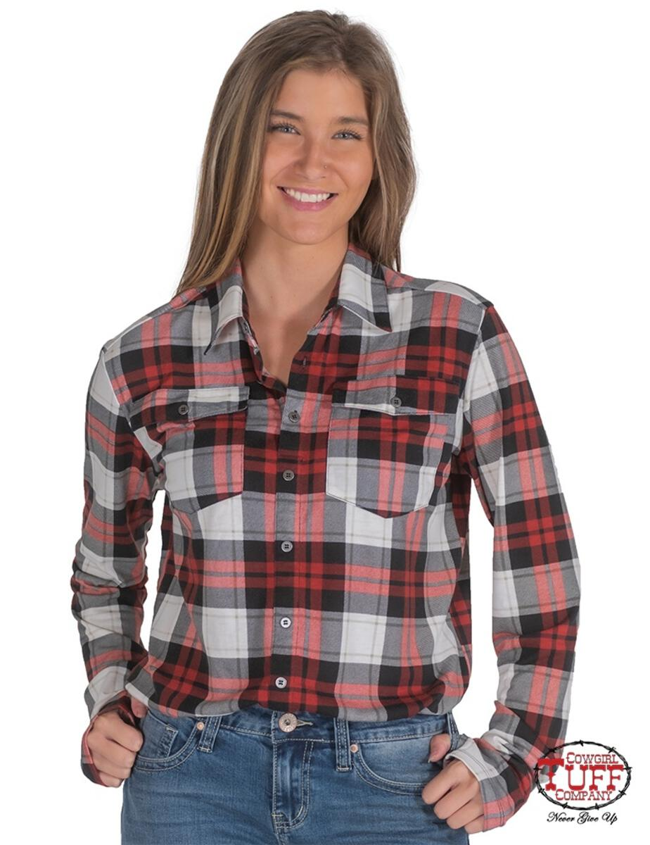 Cowgirl Tuff Arena Shirt - ET0033