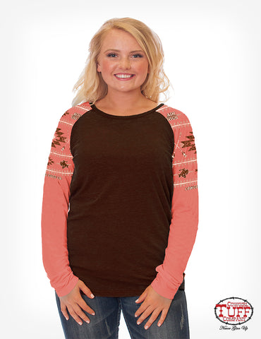 Cowgirl Tuff Long Sleeved Tee (100177)