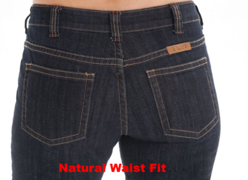 Cowgirl Tuff Jeans - Dark Wash Just Tuff