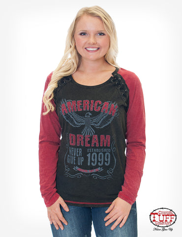 Cowgirl Tuff Long Sleeved Tee (F00401)