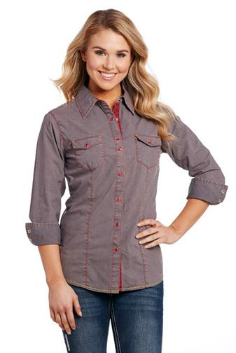 Cowgirl Up Long Sleeved Shirt (CG70908)