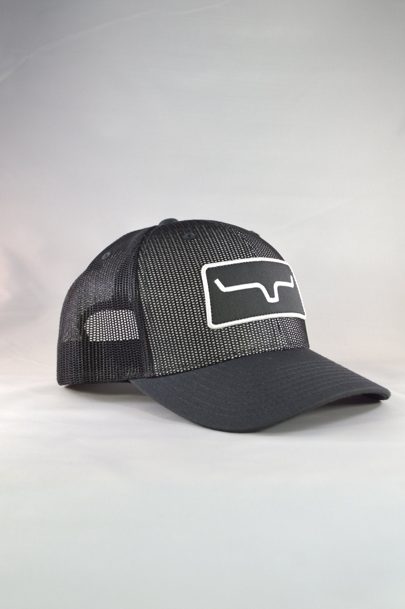 Kimes Ranch All Mesh Trucker Cap - Charcoal