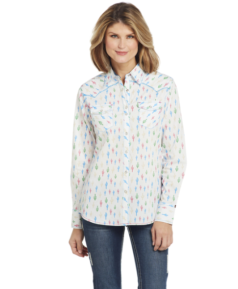 Cowgirl Up Long Sleeved Shirt (CG00205)