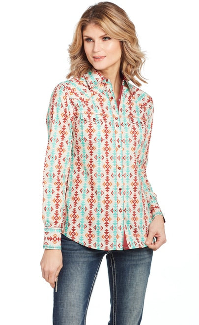 Cowgirl Up Long Sleeved Shirt (CG00805)