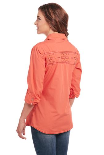 Cowgirl Up Long Sleeved Shirt (CG80101)